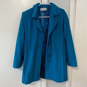 VINTAGE Turquoise Blue Women's Jacket